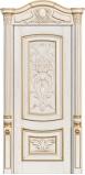 Возможные варианты отделки массива: Дуб Беленый браш с золотом (фото)