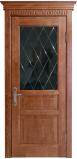 Двери TEMPO с черным стеклом