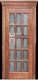 Двери FORTE II со стеклом