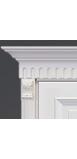 Двери Розетка телескопическая декоративная (левая+правая)