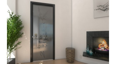 Двери в алюминиевом профиле