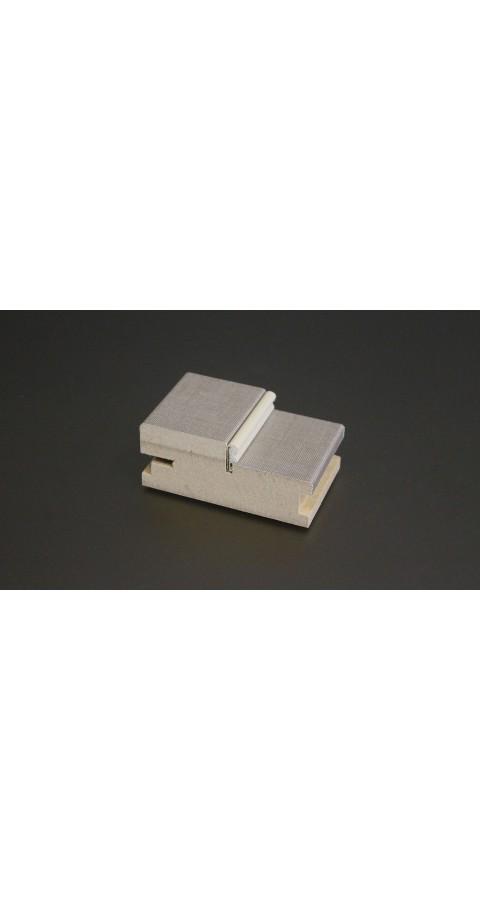 Коробка под петли скрытой установки с уплотнителем Future (комплект 2,5 шт)